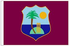 West Indies Cricket Team Windies Sleeved Courtesy Flag for Boats 45cm X 30cm