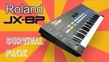 ROLAND JX-8P Survival Pack - NEW STUDIO PATCHES / SOUNDS