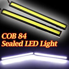 2pcs White 84 LED Daytime Running Light Car Fog Driving Lamp Daylight Universal