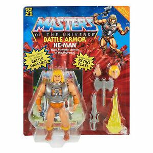 Mattel Masters of the Universe Origins Deluxe Actionfigur Battle Armor He-Man