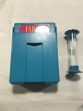 Vintage 1989 Taboo Card Holder & Hour Glass Timer Replacement Parts Pieces