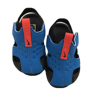 Nike Sunray Protect 2.Adjust Size 3C Toddler/Infant/Kids Sandals/Water Shoe.Blue