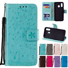 For Samsung Galaxy A10e/A30/A50 Magnetic Pattern Leather Wallet Case Filp Cover