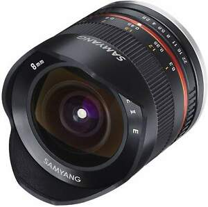 Samyang 8mm F2.8 Fisheye UMC II APS-C Sony E - Black Camera Lens