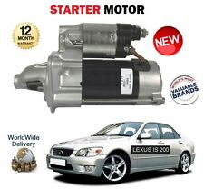 FOR LEXUS IS200 2.0 GXE10 1G-FE 1999-2005 NEW STARTER MOTOR UNIT