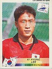N°342 KI HYUNG LEE SOUTH KOREA PANINI WORLD CUP 1998 STICKER VIGNETTE 98