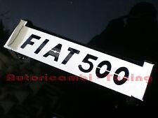 GRIGLIA ALZACOFANO POSTERIORE ACCIAIO CROMATO FIAT 500 F L R sp067