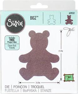 Sizzix Bigz Dies Fabi Edition-Teddy Bear #4 By Jorli Perine, 659552