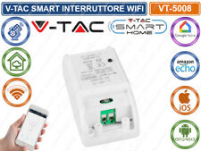 V-TAC SMART VT-5008 INTERRUTTORE WI-FI CONTROLLABILE TRAMITE APP PER SMARTPHONE