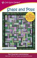 Snaps and Pops - Cozy Quilt Designs Quilt Pattern