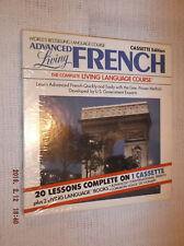 ADVANCED  LIVING  FRENCH  CASSETTE  EDITION  (20 LESSONS)