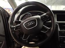07 08 09 10 11 12 13 14 15 AUDI Q7: Steering Wheel, Heated, 4 Spoke; Black CA