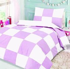 Cot Bed Duvet Cover and Pillowcase 120 X 150 Cm Design Pink Patchwork