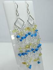 Hook Turquoise Fine Chandelier Earrings