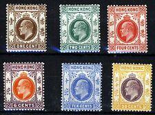 Edward VII (1902-1910) Multiple Hong Kong Stamps (Pre-1997)
