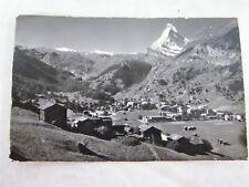 Vintage Zermatt und Matterhorn Perren- Barberini, 1955 Zermatt Postcard