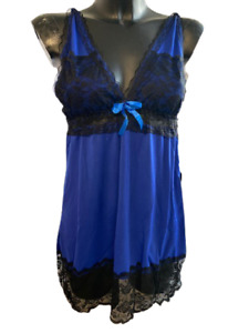 Negligee Lace with Matching Brief Lingerie