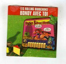 CD SINGLE PROMO(NEUF) ROLLING BIDOCHONS BONDY AVEC TOI/ CUITE/ ROGER (BINET)