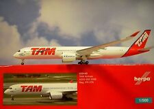 Herpa Wings 1:500 Airbus a350-900xwb tam Airlines PR-XTA 529143 modellairport 500