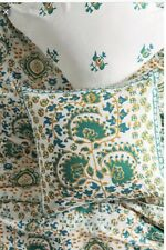 Anthropologie Camina ONE Euro Sham GREEN ~ NEW WITH TAGS! RV $58