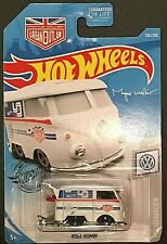 2019 Hot Wheels Volkswagen #136 - Kool Kombi - White