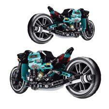 Motorbike Speed Technic Blocks Toys Model Bricks Racer Motorbike City Building