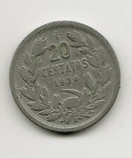 World Coins - Chile 20 Centavos 1924 Coin KM# 167
