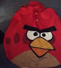 ANGRY BIRD, RED BIRD COSTUME, ADULT, ONE SIZE, HALLOWEEN COSTUME
