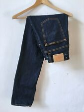Nudie Jeans CO AVERAGE JOE DRY ORGANIC Jeans made in Italy men's size W 31 L 32