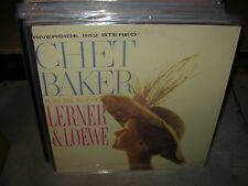 CHET BAKER plays the best of lerner & loewe ( jazz ) riverside stereo