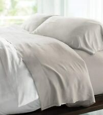 Cariloha Resort Bamboo Sheets | 4 Piece Bed Sheet Set | 100% Viscose From Bamboo