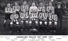 Soccer / Football. Sunderland English Cup Team 1913 by Mack & Co.,Manchester.
