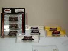 Atlas  set of 8 ore cars w/diff road #'s Great Northern (brown)  N-scale