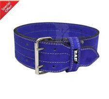 2Fit WeightLifting Nubuck Leather Power Gym Belt Back Support strapTraining LARG