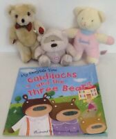 Goldilocks and the three bears Story Sack-Book & 3 Bears.