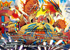 "Buddyfight x 1 Bal Dragon, ""Great Full Bal Lariat!!"" [D-BT02/0002EN RRR (FOIL)]"