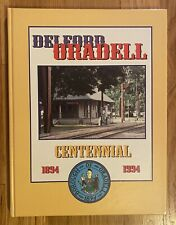 Scarce Book History of Oradell, Delford, New Jersey NJ 1894-1994 Illustrated