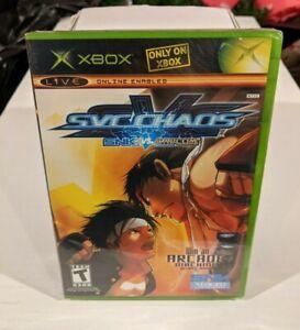 2 x Factory Sealed - Xbox - SNK vs Capcom Chaos & Guilty Gear X2 - Black Label
