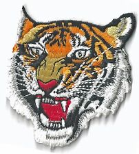 TIGER - FACE - IRON ON PATCH