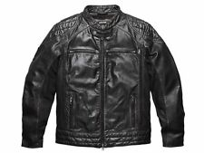 Harley Davidson Men BLACK LABEL #1 Distressed Leather Jacket 98113-16VM Small