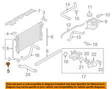 FORD OEM-Radiator Lower Insulator 7T4Z8124A