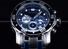 Invicta Men's 48mm Fire Blue Pro Diver Scuba Japan Chronograph SS Bracelet Watch
