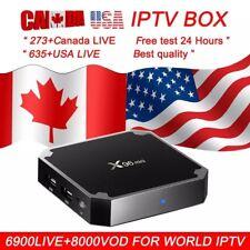 Android 7.1 Box Pro TV x96 Mini BOX WiFi 4K 2018 w/ Remote USA CANADA IPTV FREE