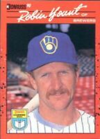 1990 Donruss Learning Series Baseball #37 Robin Yount Milwaukee Brewers