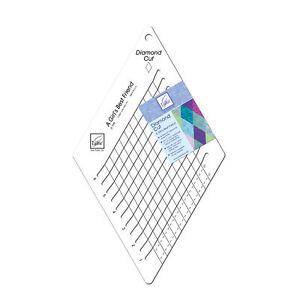 June Tailor 60 Degree Diamond Cut Template