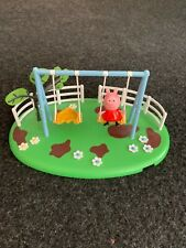 Peppa Pig Outdoor Swing Playset & Figure Official