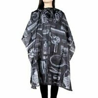 Hair Cutting Cape Pro Salon Hairdressing Hairdresser Gown Barber Cloth Apron US
