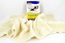 """Cozy Pet Fleece Rug 20"""" x 40"""" Soft 100% Polyester No Unravel when cut to shape"""