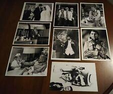 VINTAGE CBS TV SHOWS 7X9 PROMO PHOTO RED SKELTON THE WALTONS LOT 8 VG/EX