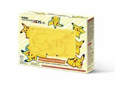 Nintendo 3DS XL Pikachu Edition 4GB Yellow Handheld System NEW